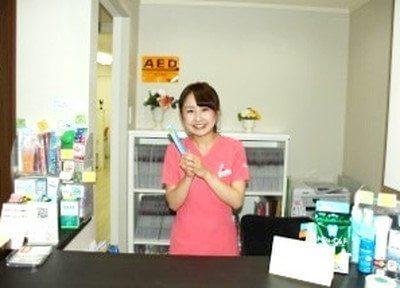 おすすめの歯ブラシがございます。ぜひお使いください。