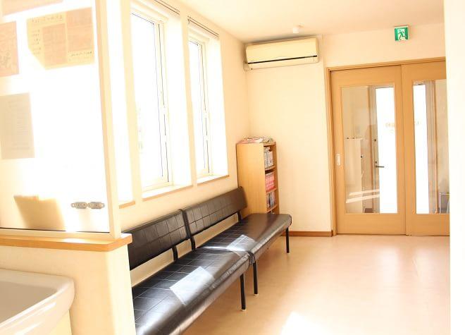 待合室です。