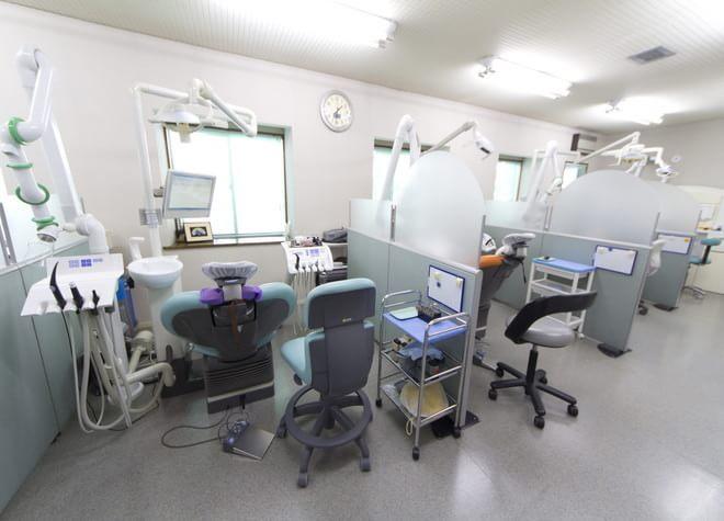 広い診療スペース