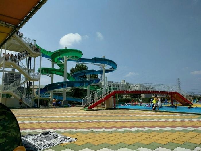 沼影公園 夏期屋外プール