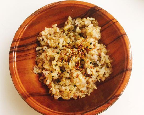 蕎麦米入り玄米