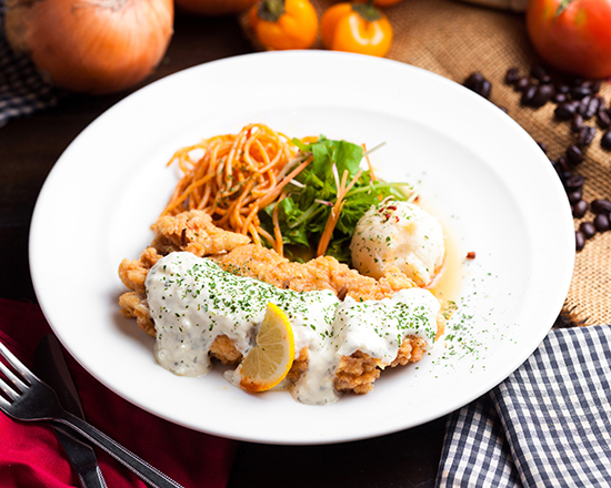 宮崎県産鶏もも肉チキン南蛮~特製南蛮酢&タルタルソース~
