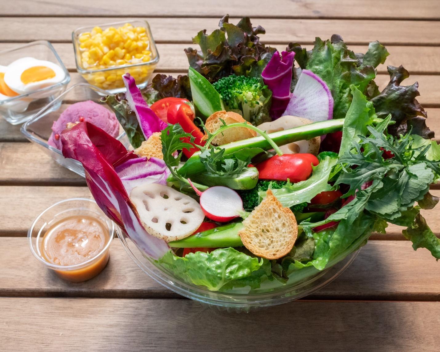 野菜labのアグリサラダ