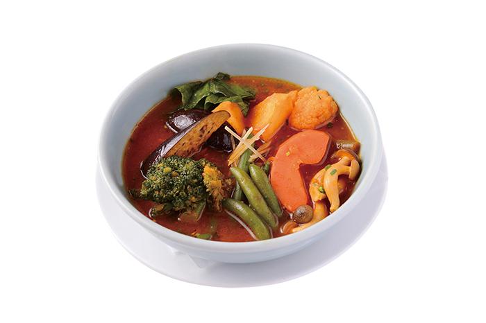旬の野菜スープカレー VEGETABLE SOUP CURRY
