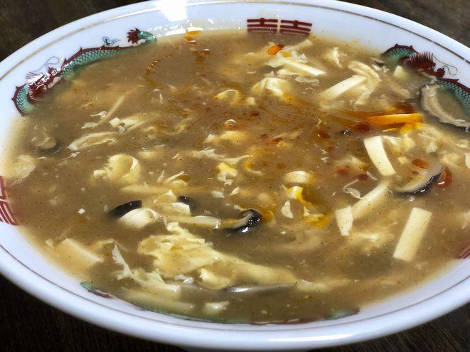 酸辛スープ
