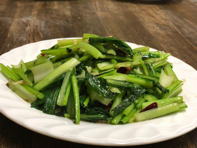 小松菜の中華風炒め