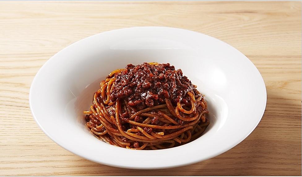 【7J】All Beef のミートスパゲッティ