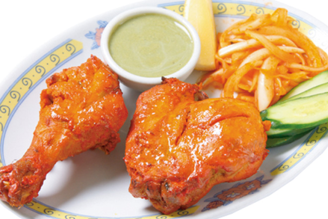 タンドリーチキン1P Tandoori Chicken1P