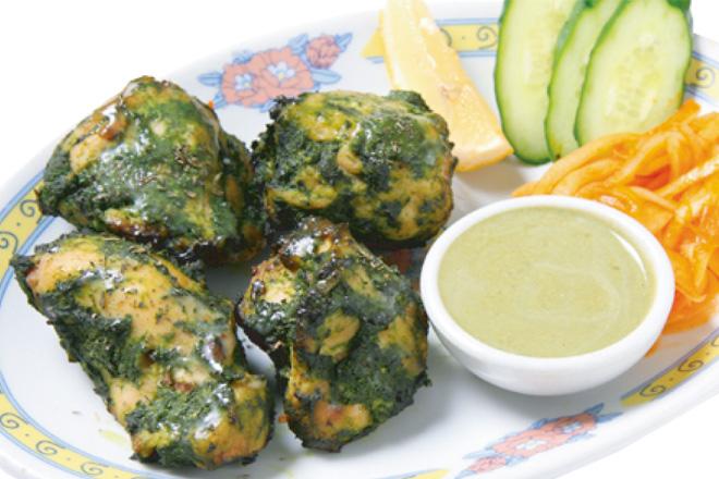プディナカバブ Pudina Kabab