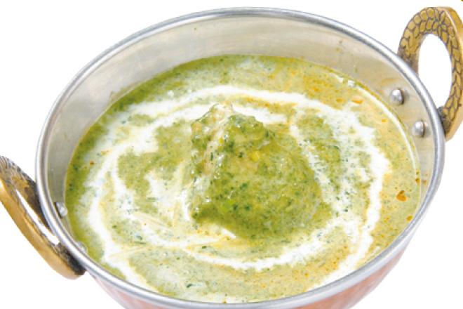 サグチキンカレー Sag Chicken Curry