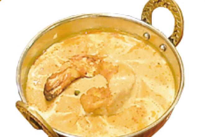プラウンマサラカレー Prawn Masala Curry