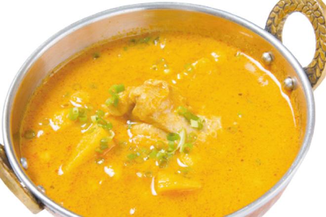 チキンチャナカレー Chicken Chana Curry