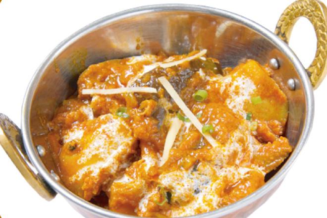 アルベイガンカレー Aloo Baigan Curry