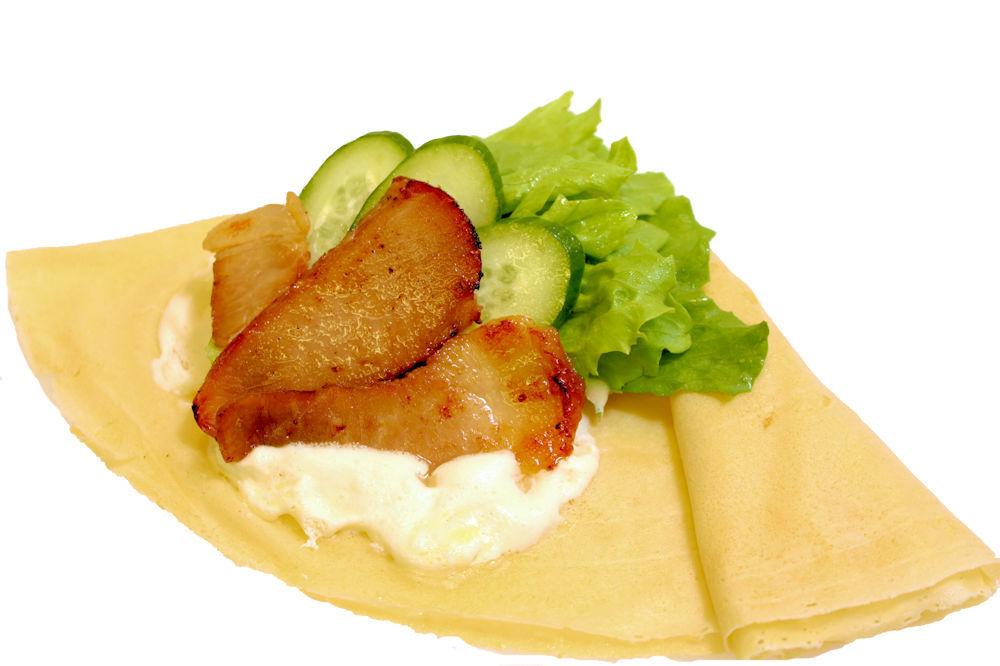 自家製焼豚サラダ燻製バター