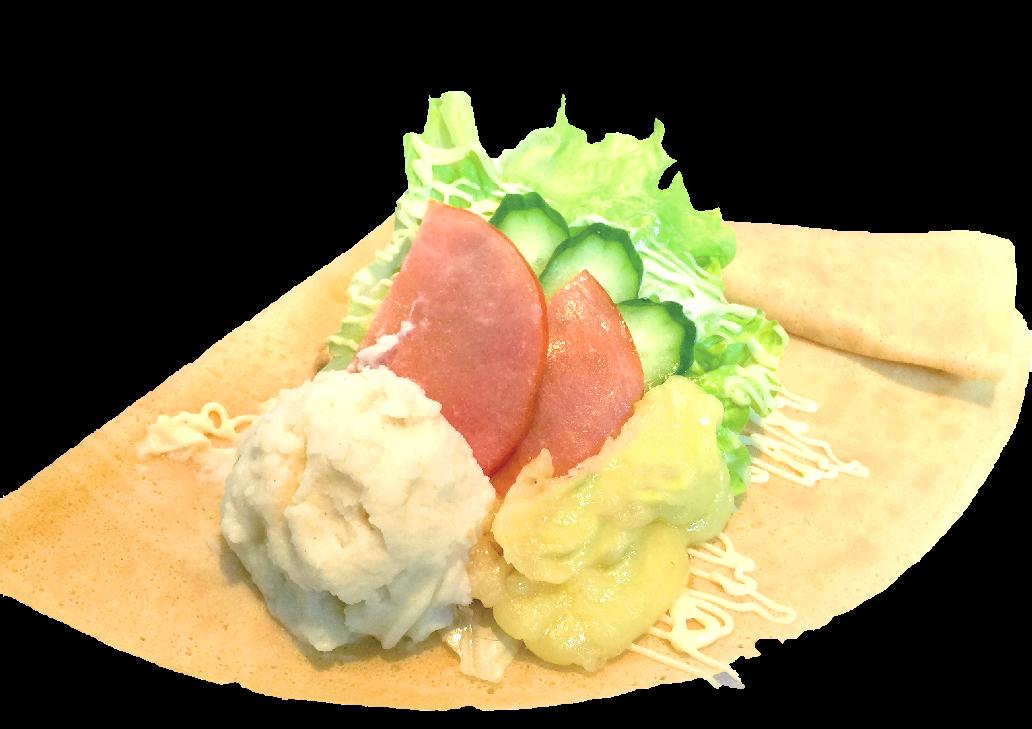 ポテトハムサラダチーズ