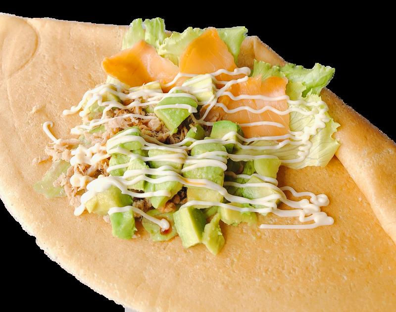 アボカドスモークサーモンツナサラダ