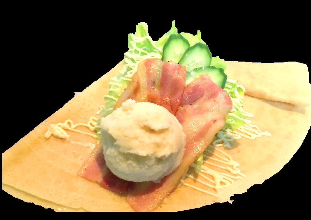 ポテトベーコンサラダ