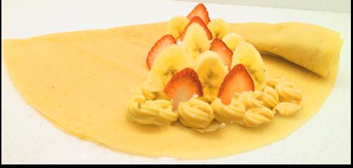 いちごバナナカスタード