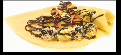 いちごバナナチョコWクリーム