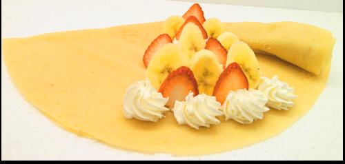 いちごバナナホイップクリーム