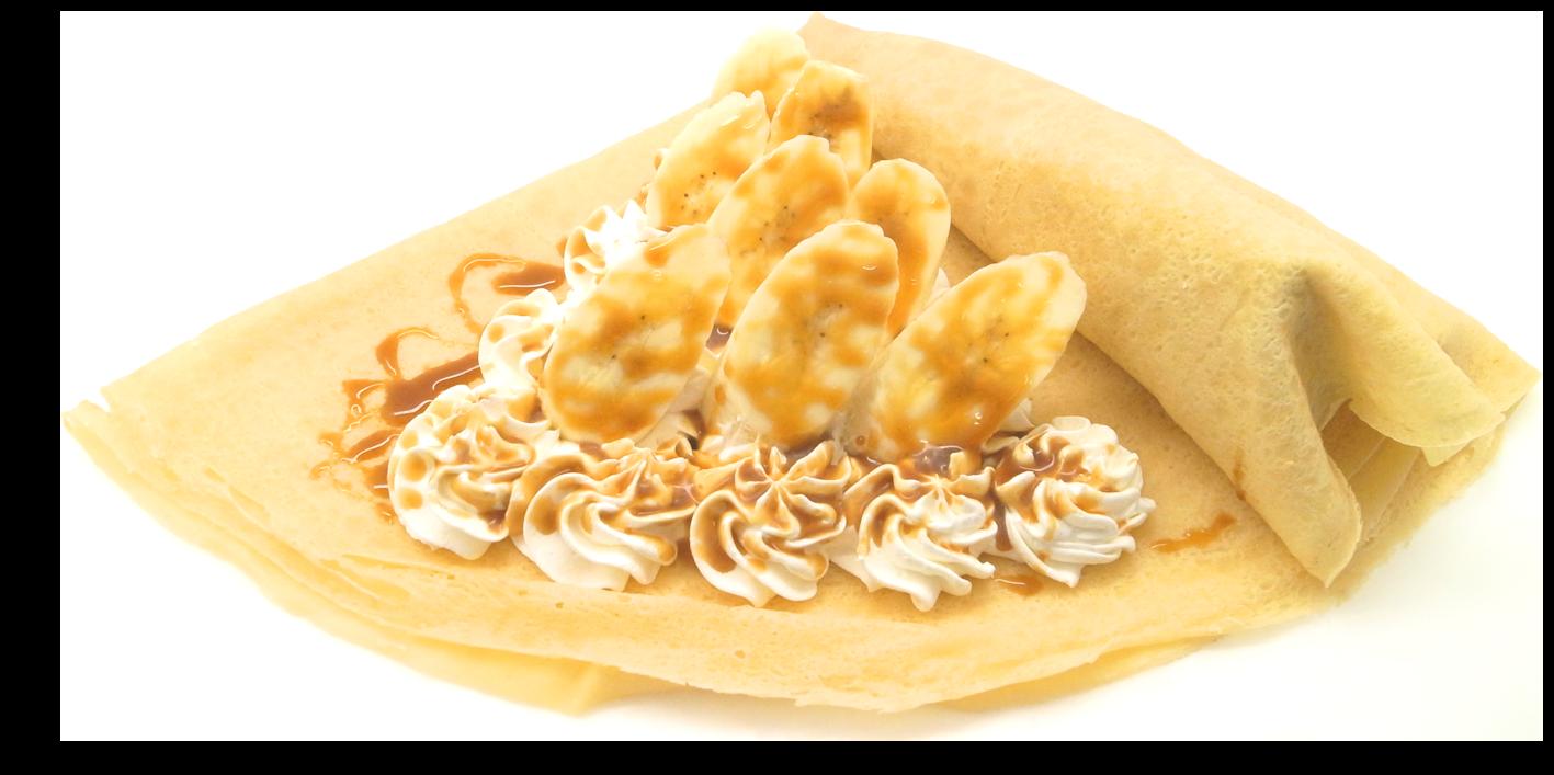 バナナキャラメルホイップクリーム