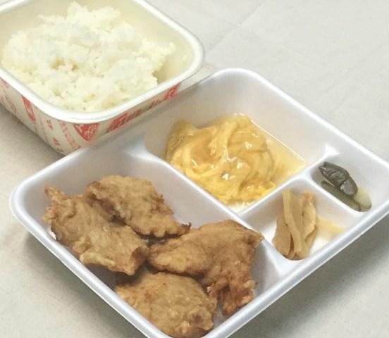 鶏唐揚弁当