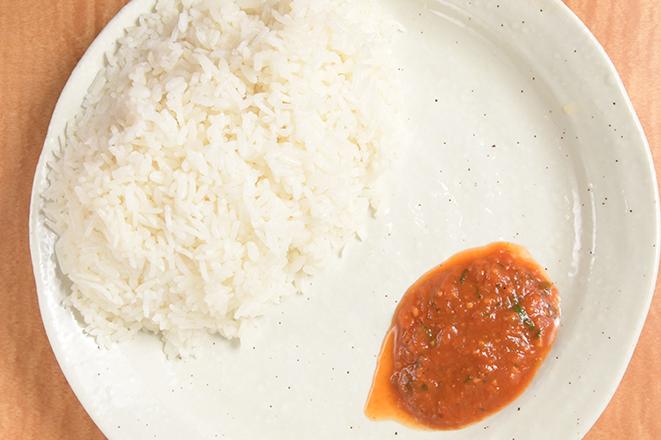 ライス(アチャール付)(Rice)