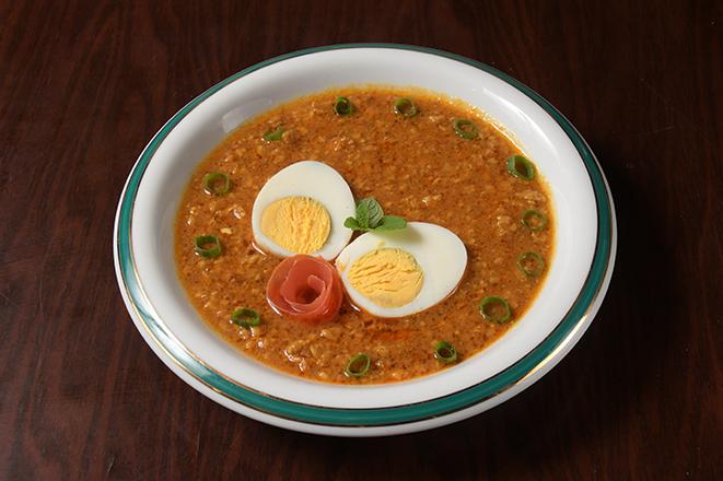 キーマたまごカレー(Keema & Egg Curry)