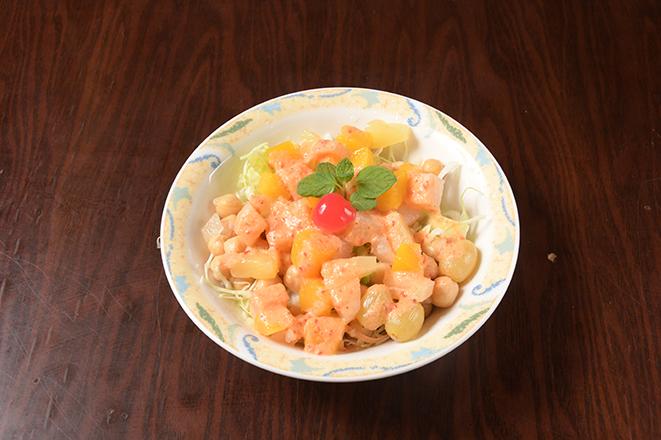 ひよこ豆のサラダ(Chana Salad)(ディナー)