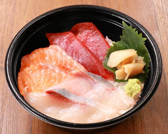 海鮮三種丼