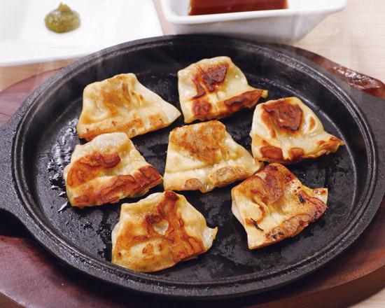 浪速の一口餃子 Naniwa-Style Gyoza Dumplings