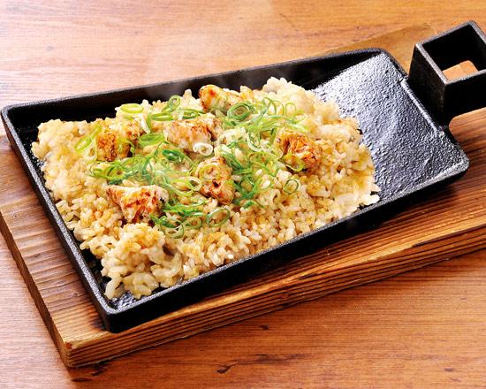 炭火焼き 鶏チャーハン Charcoal-Grilled Chicken Fried Rice