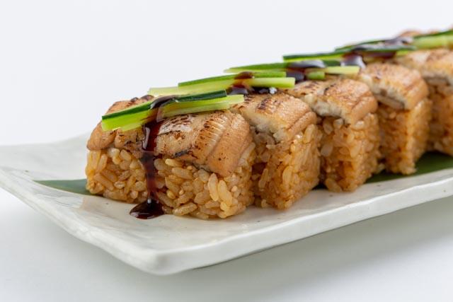 『穴子押し寿司』