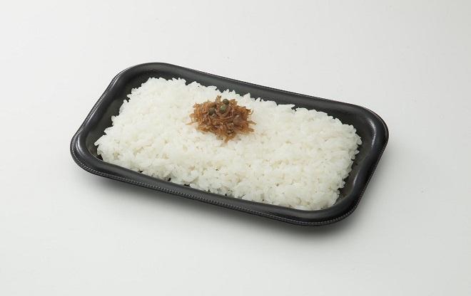 ご飯(ちりめんのせ)