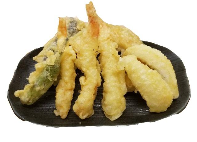 天ぷら5種盛