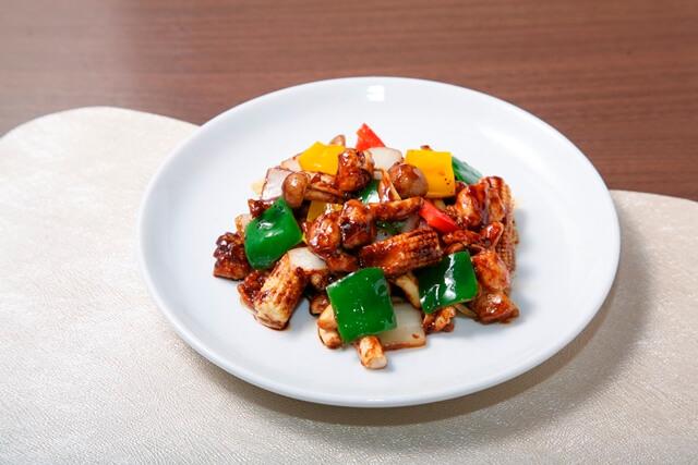 鶏肉の北京味噌炒め